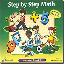 Step by Step Math (Gr. 3-4)