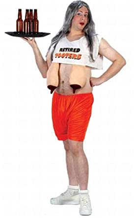 Retired Hooters Waitress Costume - Standard