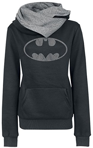 Batman Logo Felpa donna nero S
