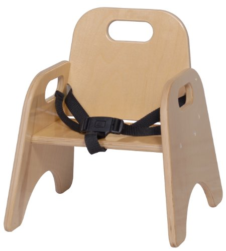 Steffy Wood Products 7-Inch Toddler Chair with Strap - 1