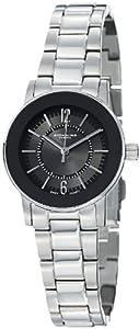 Stuhrling Original Women's 959L.12111 Classic Ascot  Paramount Swiss Quartz Ultra Slim Black Bezel Watch