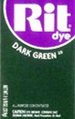 Rit Dye 32 g Dark Green Powder (6-Pack)