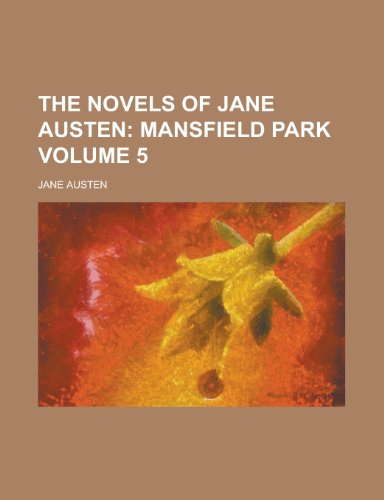 The Novels of Jane Austen Volume 5