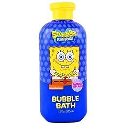 SpongeBob Squarepants Bubble Bath Mango Splash 12 fl oz. (355ml)