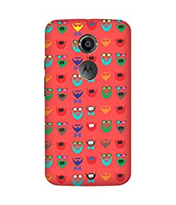 Beard Colour-57 Motorola Moto X Case
