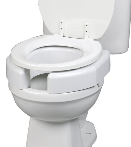 Secure Bolt 725790002 Bathroom Elevated Toilet Seat