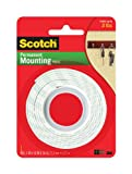 3M Scotch Heavy Duty Mounting Tape, 1-Inch by 50-Inch (114/DC)
