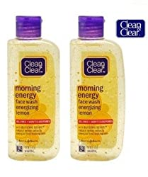 Clean & Clear Morning Energy Facewash Lemon (100ml) (Pack of 2)