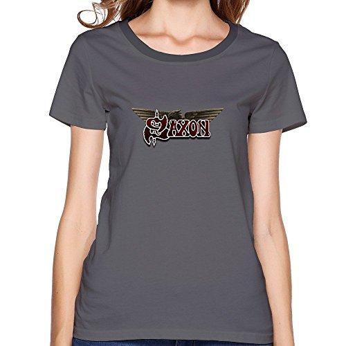 Woman Cute O Neck Saxon Tshirt XLarge