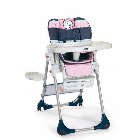 Chicco 5064837960000 Sediolone Per la Pappa Polly 2 In 1 Pink Bear 2010