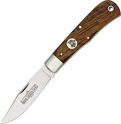 Queen Cutlery Knives Pocket Knife Mountain Man Curly Zebra 3CZ USA