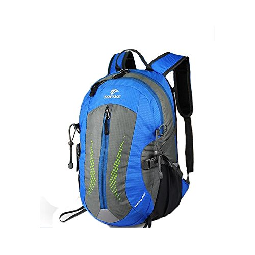 67d113867cb5 TOFINE Outdoor Heavy Duty Daypack Weekend Travel Bag with Rain Cover Blue 25  Liter