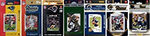 NFL St. Louis Rams 7 Different Licensed Trading Card Team Sets by C&I Collectables