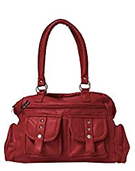Glory Fashion Women's Stylish Handbag Red AK-170