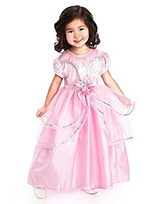 Little Adventures Traditional Royal Pink Princess Girls Costume - Large (5-7 Yrs) by Little Adventures