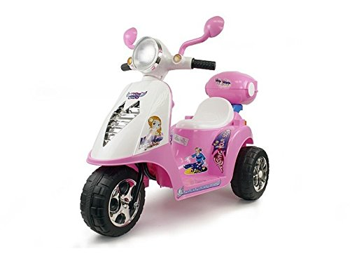 elektro kinder roller motorrad auto elektroauto xl rosa. Black Bedroom Furniture Sets. Home Design Ideas
