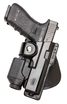 Concealed Carry Fobus Holster HandGun, Fire Arm, Pistol Fobus Tactical Roto-Holster S&W M&P 99 Full Size 9/40/45 Paddle Left Hand