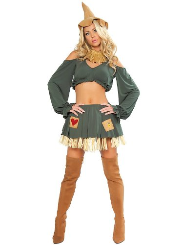 Scarecrow Costume - Medium/Large - Dress Size 6-10