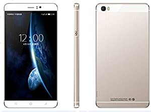 Jiake M8 6.0 Inch Screen Android 4.4.2 Smartphone MTK6572 Dual Core 1.2GHz 4GB ROM 512MB RAM Dual Cameras 3G Mobile Phone (Gold)