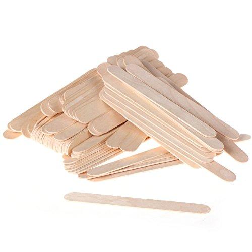 Pro Large Wide Wood Wax Spatula Applicator 6