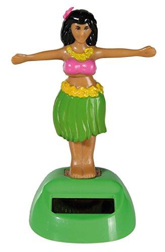 Solar-Wackel-Figur-Hula-Girl-II-ideal-fr-die-Fensterbank-Auto-Bro-Schreibtisch-einfach-sss-Hula-Girl-II