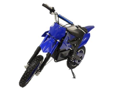 500 Watt Electric Dakar Dirt Bike For Kids, Blue Camo