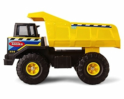 tonka-retro-classic-steel-mighty-dump-truck-the-color-of-the-stickering-may-vary
