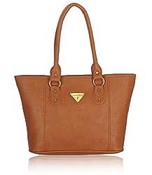 Fantosy Women's Handbag Tan (FNB-565)