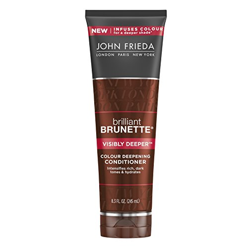 John Frieda Brilliant Brunette Visibly Deeper Colour Deepening Conditioner, 8.3 Fluid Ounce (Color Conditioner Brown compare prices)
