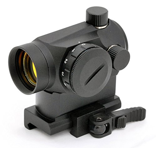 Hammers Tactical Mini Micro Red Dot Sight With Quick Detach Qd Riser Mount