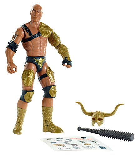 WWE Create A Superstar The Rock Figure Pack