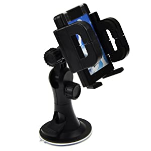 EarlyBirdSavings Universal Windshield Car Mount Cradle Holder For Cell Phone GPS IPhone 4/4S from EarlyBirdSavings