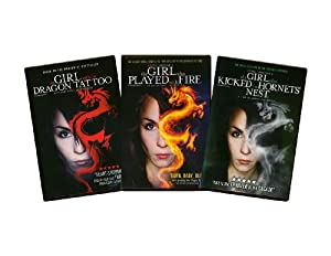 Stieg Larsson Millennium Trilogy DVD - (Girl with the Dragon Tattoo / Girl Who Played with Fire / Girl Who Kicked the Hornet's Nest)(English Dubbed)