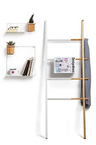 jan kurtz hip metall handtuchhalter weiss matt hip handtuchleiter stummer diener garderobe 7. Black Bedroom Furniture Sets. Home Design Ideas