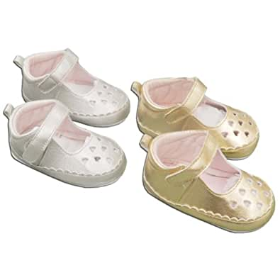 Amazon Silver Party Shoes for Baby Girl 6 12 Months