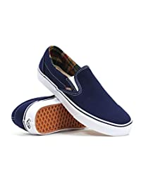 Vans C&L Slip-on Dress Blues Potting Soil Mens Skate Shoes