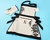 """""""Kensington"""" Personalized Apron and Oven Mitt"""