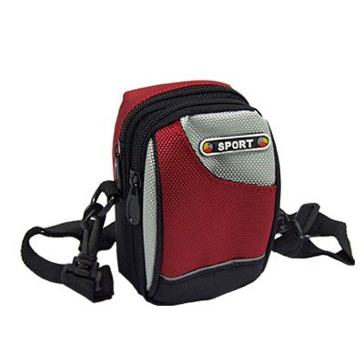 Nylon Belt Waist Bag Pouch Climbing Pack w Zipper