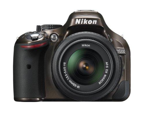 Nikon デジタル一眼レフカメラ D5200 レンズキット AF-S DX NIKKOR 18-55mm f/3.5-5.6G VR付属 ブロンズ D5200LKBZ