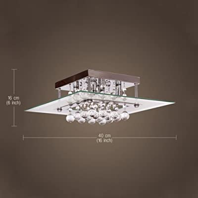 Modern Crystal Ceiling Light Pendant Lamp Fixture Lighting Chandelier ONSALE HOT