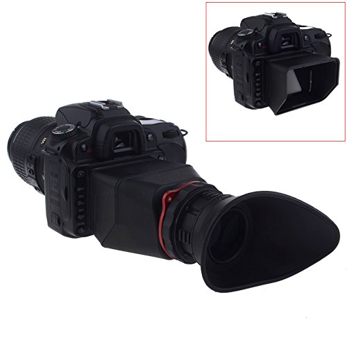 Neewer® Neeview 2.5X Magnification 4:3 Dslr Lcd Screen Viewfinder For Canon 5D Ii, 7D; Panasonic Gf1, Gf2; Nikon D90, D700