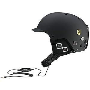 Salomon Brigade Audio Helmet Small Matte Black