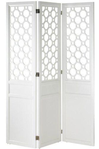 Port Allen Screen, 72H x55W x1″D, WHITE