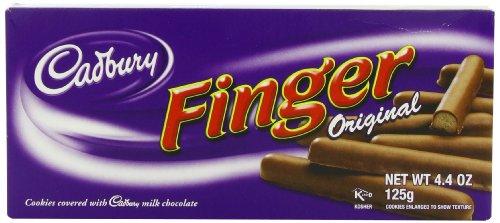 Cadbury Milk Chocolate Fingers 125g