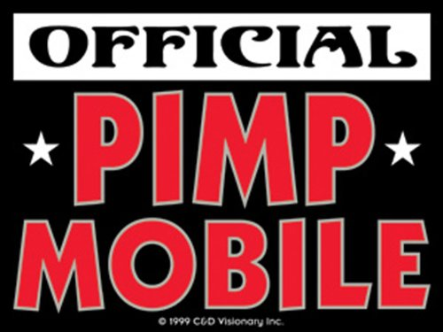 Licenses Products Official Pimp Mobile Sticker