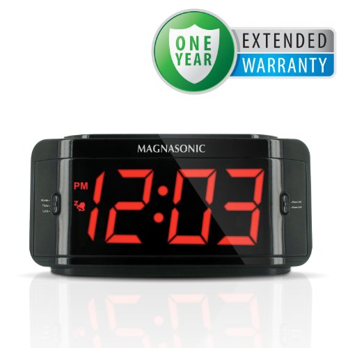 Defender ST300-SD Covert Alarm Clock DVR with Built-in Color Pinhole Surveillance Spy Camera and 2GB SD Card - Bonus 1 Year Additional Warranty Included