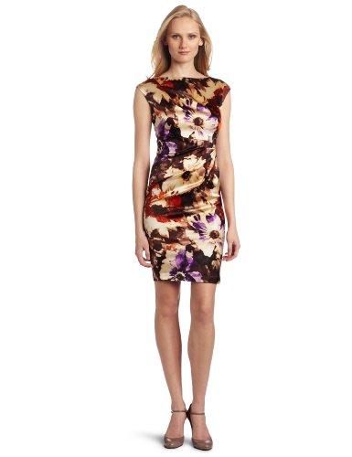 Suzi Chin Women's Cocoa Multi Dress