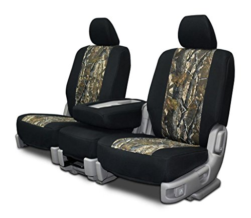 Custom Fit Seat Covers For Chevy/Gmc 40-20-40 Seats Realtree Hardwoods Neo-Camo
