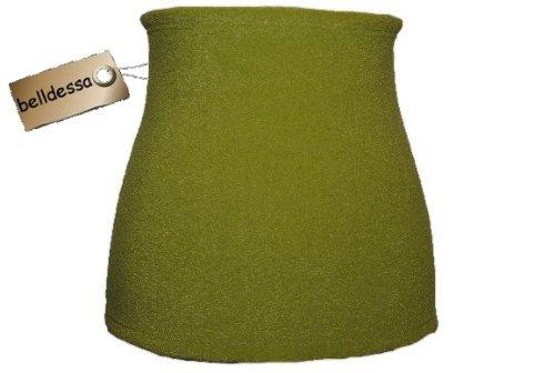 3 in 1 : Fleece - Nierenwärmer apfelgrün Shirt Verlängerer / modisches Accessoire