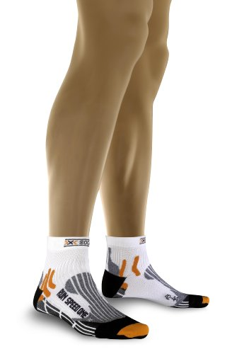 X-Socks Uni Funktionssocke Speed One, white/ black, 45-47, X 20037